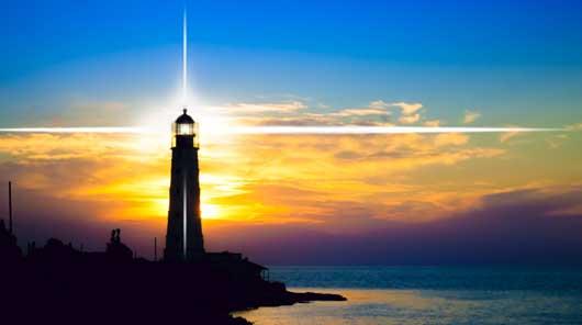 Angst Hilfe / Leuchtturm